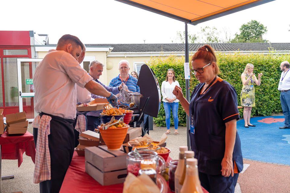 Covid-19 Catering Team Laura Lynn Belfast